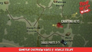 Friday the 13th: The Game - Gameplay Overview Video #5: Vehicles