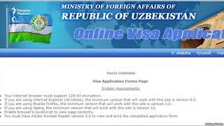 45 давлатдан борган сайёҳлар визасиз, 76 давлатдан борганлар E-Visa билан Ўзбекистонга кириши мумкин