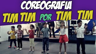 "COREOGRAFIA ""Tim Tim Por Tim Tim"" MÚSICA GOSPEL INFANTIL - 2017"