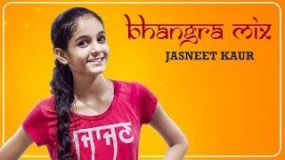 PBN (Panjabi by Nature) Bhangra Mix | Jasneet Kaur | Dangal Girl