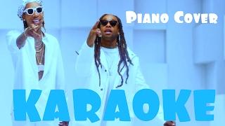 KARAOKE Ty Dolla $ign & Wiz Khalifa - Brand New (Piano Cover)