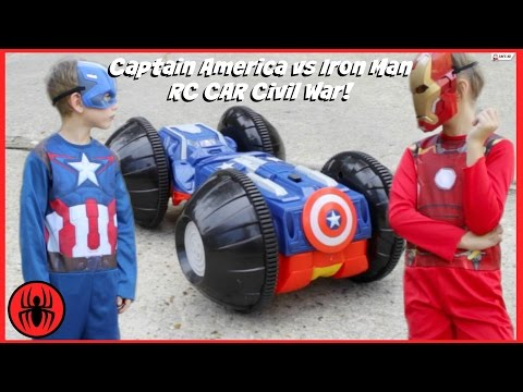 CAPTAIN AMERICA vs IRON New Flash Game