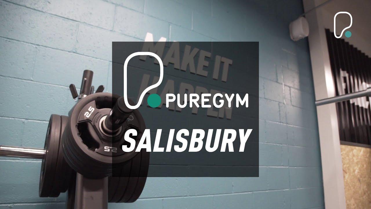 Inside PureGym Salisbury