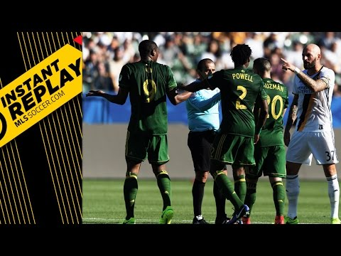 Van Damme's red, Seattle's disallowed goal and DOGSO in SJ   INSTANT REPLAY