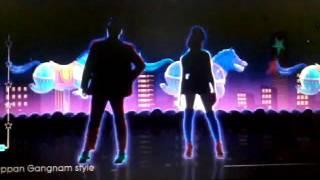Just dance dançando Stylus psy
