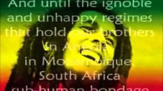 Bob Marley War lyrics