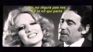 Mina & Alberto Lupo - Parole Parole Catalan Subs