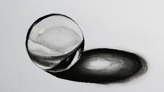 How to Draw a Realistic Crystal Ball