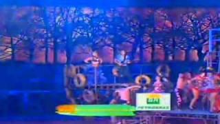 Banda Calypso e Fafá de Belém (Vermelho e Sinhá Pureza) no Criança Esperança.