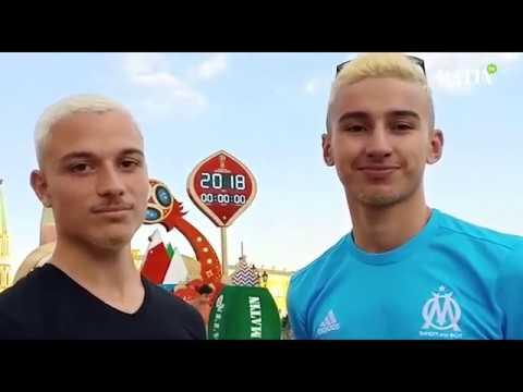 Video : Les supporters en liesse à Moscou