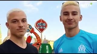 Les supporters en liesse à Moscou