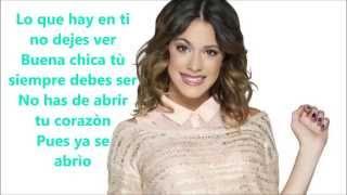 Violetta-Libre soy (Lyrics)