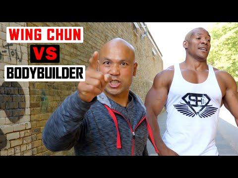 Wing Chun vs Bodybuilder ✅  lesson 1