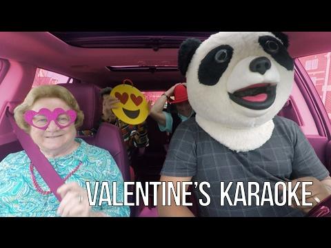 Carpool Karaoke Valentine's Day Teaser #3 - Panda Desiigner