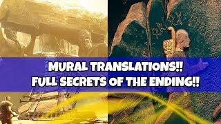 God of War Analysis- Mural TRANSLATIONS! Full Analysis on Secrets on the wall