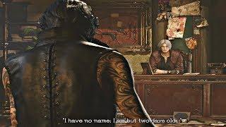 Devil May Cry 5 - Dante Meets V Cutscene (DMC5 2019) PS4 Pro