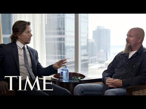 Mark Wahlberg Sits Down With His 'Deepwater Horizon' Real-Life Counterpart   The Influencers   TIME