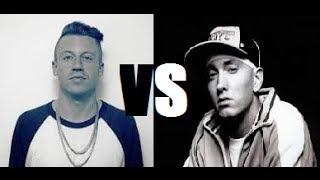 Macklemore VS Eminem - Speed Rap Battle