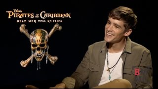 Brenton Thwaites Interview - Pirates of the Caribbean: Dead Men Tell No Tales