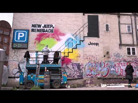 New Jeep® Renegade - Street art timelapse