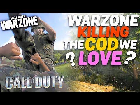 WARZONE is DESTORYING COD?..