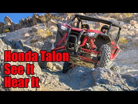 Watch the Honda Talon 1000R and 1000X in Action