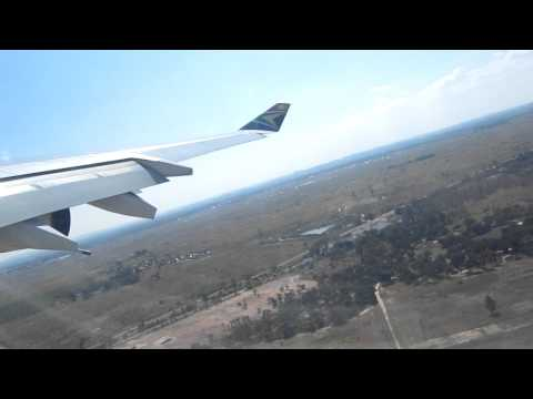 Take-off from Harare (HRE) International Airport, Zimbabwe