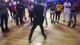 OG killing the footwork on the middle at sk8athon 2018