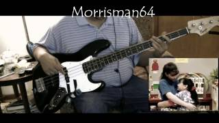 BARNEY THE SISTER SONG BASS COVER HD