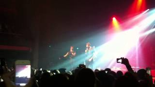 James Arthur - Say something (cover) Live Brussels @ AB