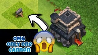 Worst th 9 base - one cannon only