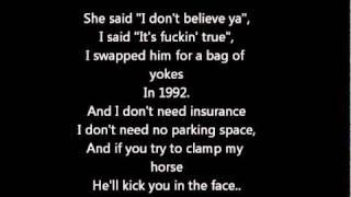 The Rubberbandits - Horse Outside with Lyrics