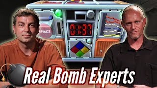 Real Bomb Squad Defuses A Bomb In