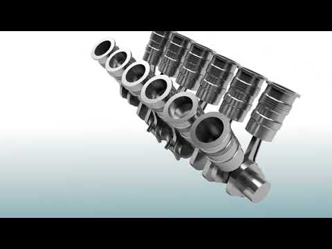 Siemens 2MW Engine Video
