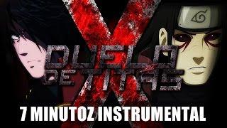Instrumental - Hashirama Vs. Madara   Duelo De Titãs (7 Minutoz)