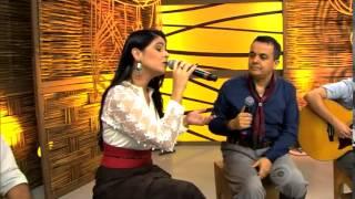 Galpão Crioulo - Shana Müller e Wilsom Paim cantam 'Vitória Régia' no Galpão