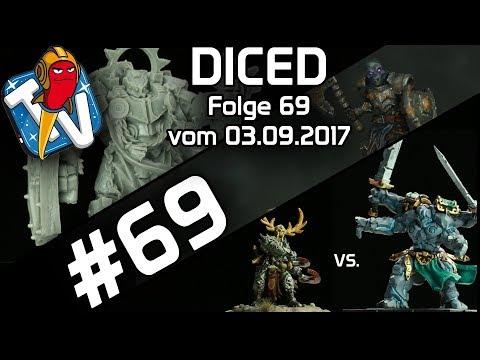 DICED - Die Tabletopshow auf Rocketbeans TV #69 | Runewars Battle Report | MOM Miniaturas | DICED
