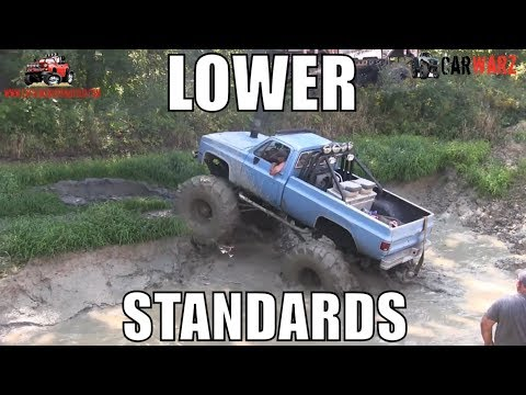LOWER STANDARDS Chevy Hits Nightmare Trench At Nightmare Racing Mud Bog 2018