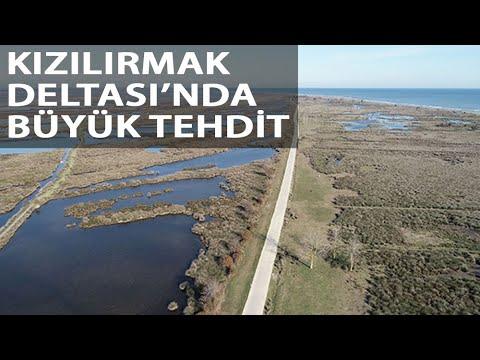Kızılırmak Deltası Küçülüyor