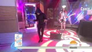 Corey Feldman & the Angels - Go 4 It - Today Show