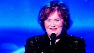 Susan boyle messed up on the view