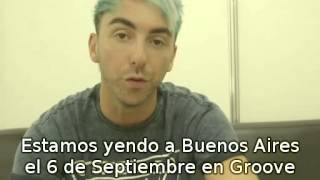 ALL TIME LOW SALUDA A FANS DE ARGENTINA
