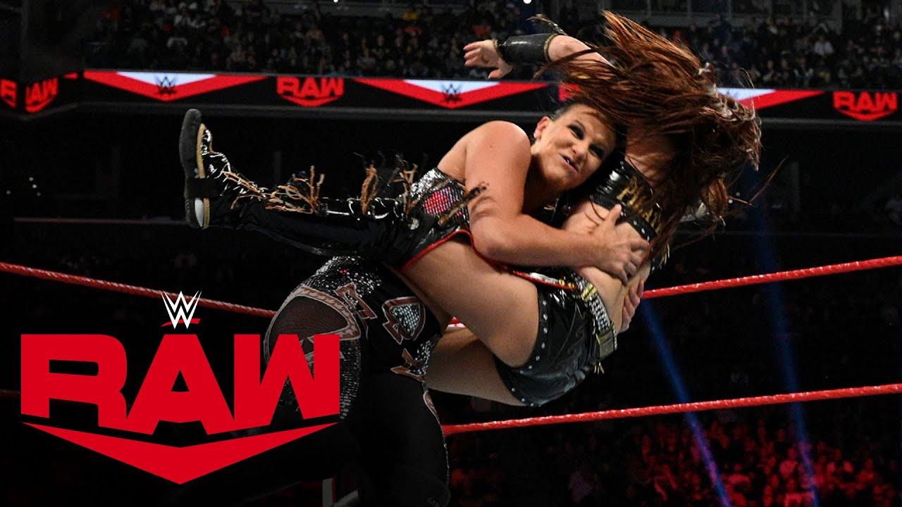 Kairi Sane vs. Shayna Baszler: Raw, March 2, 2020