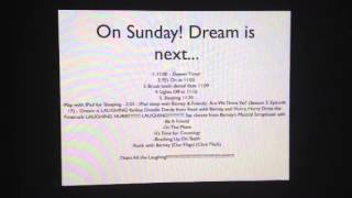 Daniel's amazing dream! YouTube - VideoStationBRNY just uploaded 2 videos