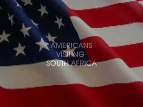 AMERICANS TOURING SOUTH AFRICA