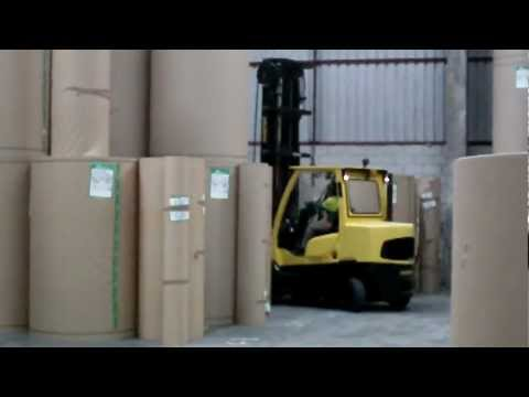 CEBRIA FORKLIFT ATTACHMENTS PAPER ROLL CLAMP (KAĞIT BOBİN ATAŞMANI) 01