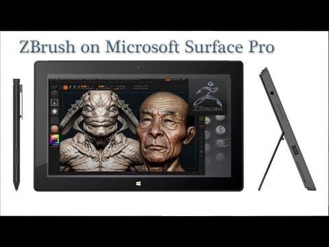 ZBrush 4R5 fills the void left by Sculptris   for $699 — Surface Pro