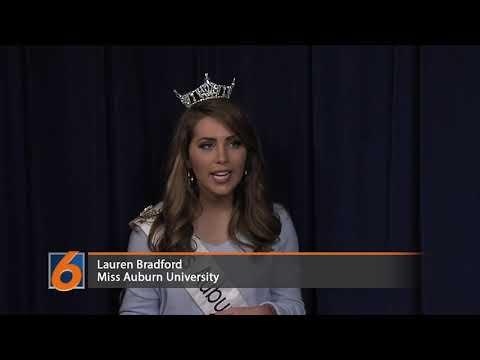 Miss Auburn University discusses platform