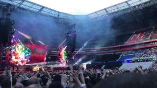 @Coldplay a Head full of dreams - lyon 8 juin 2017