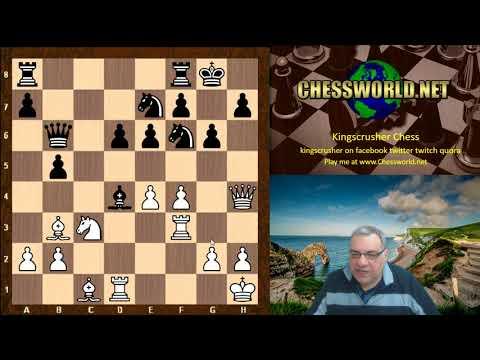 Amazing Chess Game: Gary Quillan vs Daniil Dubov Tradewise Gibraltar (2018),